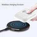 Built-in 450mAh Wireless Charge Case For Apple Bluetooth headset Airpods 4