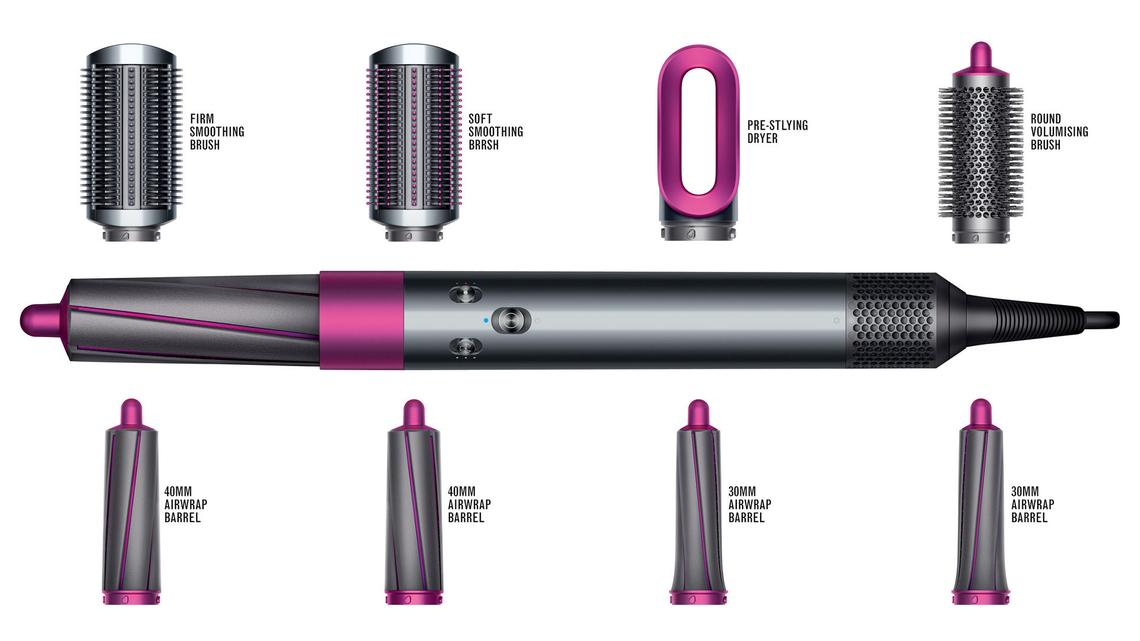 Hair Styler Set High Quality 1:1 Dyson Airwrap Complete  4