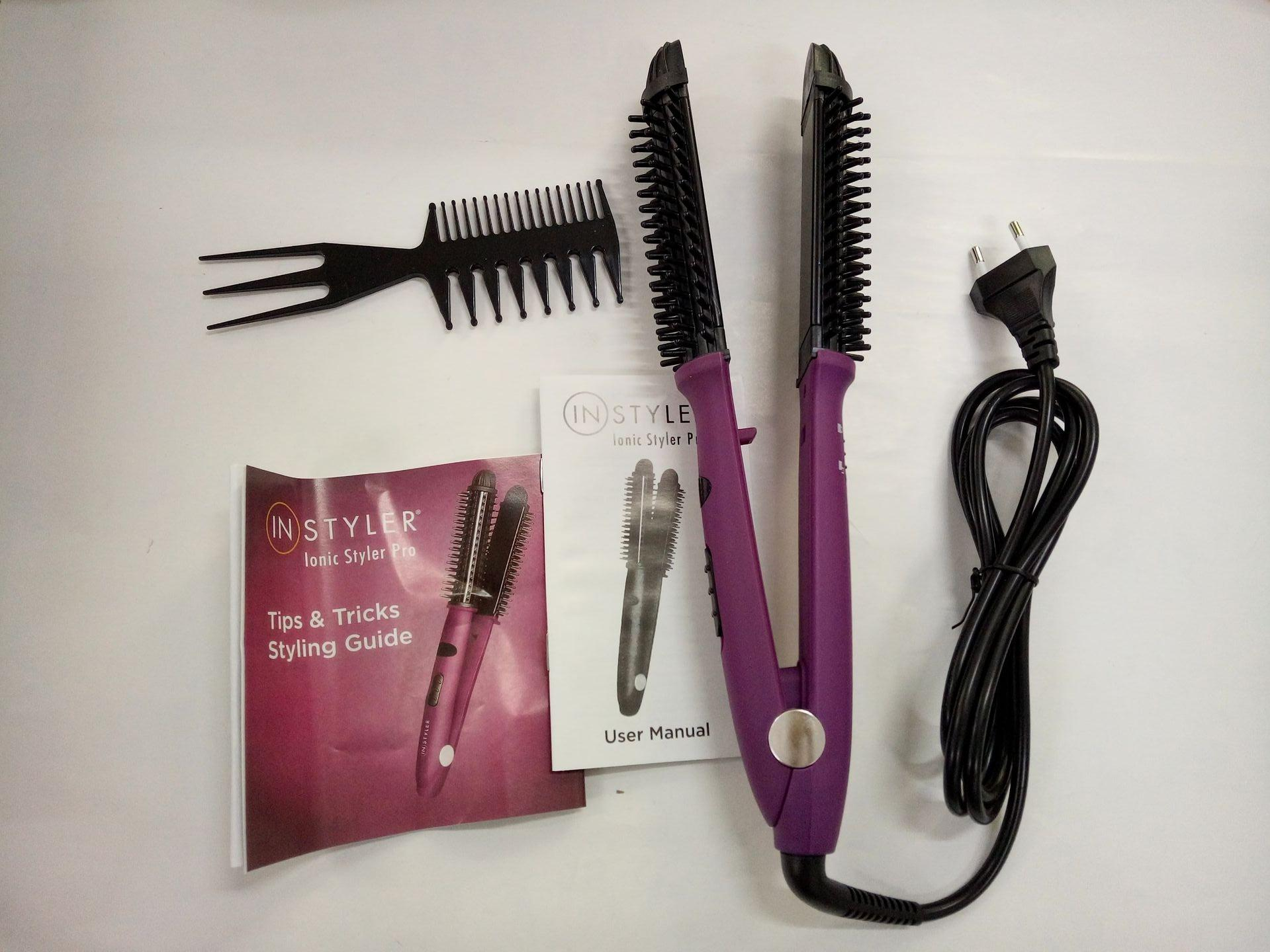 Instyler Inioc Styler Pro Ceramic Hot Brush and Flat iron