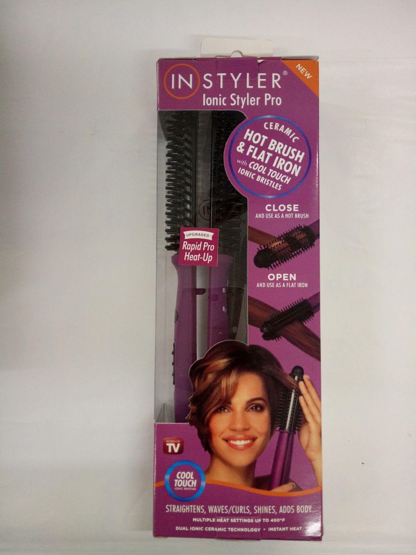 Instyler Inioc Styler Pro Ceramic Hot Brush and Flat iron 3