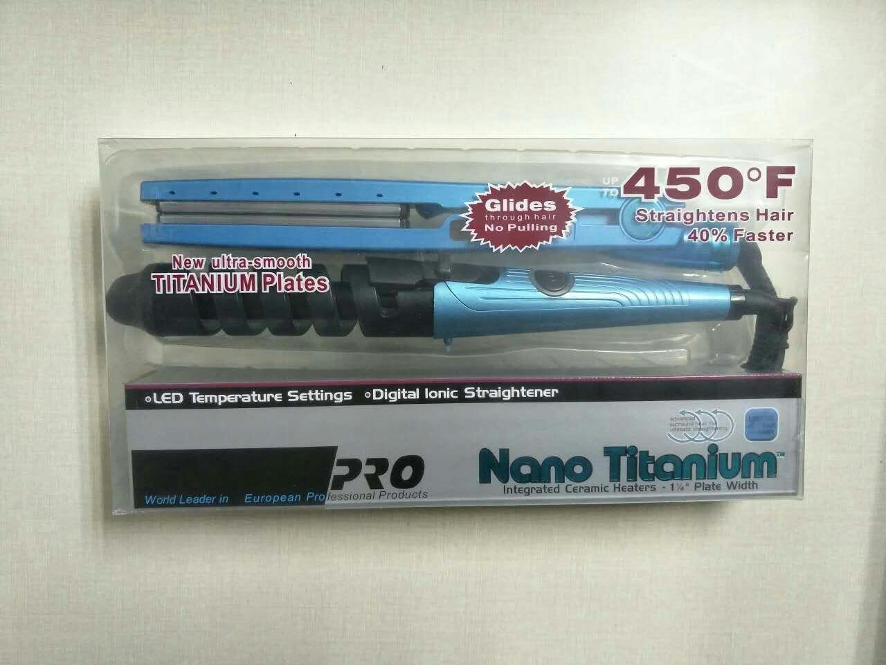 Babyliss Ultra Nano Titanium Plate Hair Straightener and Hair Curler Flat Iron 3
