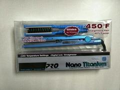 Babyliss Ultra Nano Titanium Plate Hair Straightener and Hair Curler Flat Iron