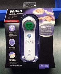 Braun Digital No Touch Forehead Thermometer NTF3000 Baby