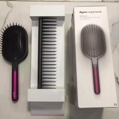 Dyson Supersonic Styling Set Detangling Comb Paddle Brush Fuchsia/Gray