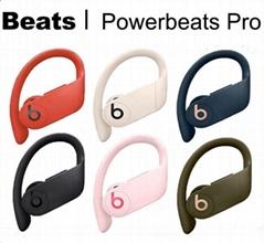 Black Wireless Earphones Powerbeats Pro Pink