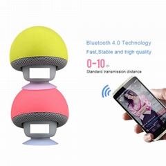 Cartoon Mini Portable Mushroom Bluetooth Speaker Silicone