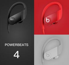 Discount Price PowerBeats 4 Wireless red/black/white