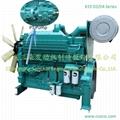 550HP Water Cooled Innercooling Diesel Engine Generator Engine 3