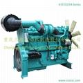 550HP Water Cooled Innercooling Diesel Engine Generator Engine 2