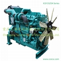 China Supplier 500kw Water Cooled Turbocharged Diesel Engine 4