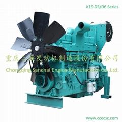 Machine China 550KW 6 Cylinder Diesel Engine For Sale