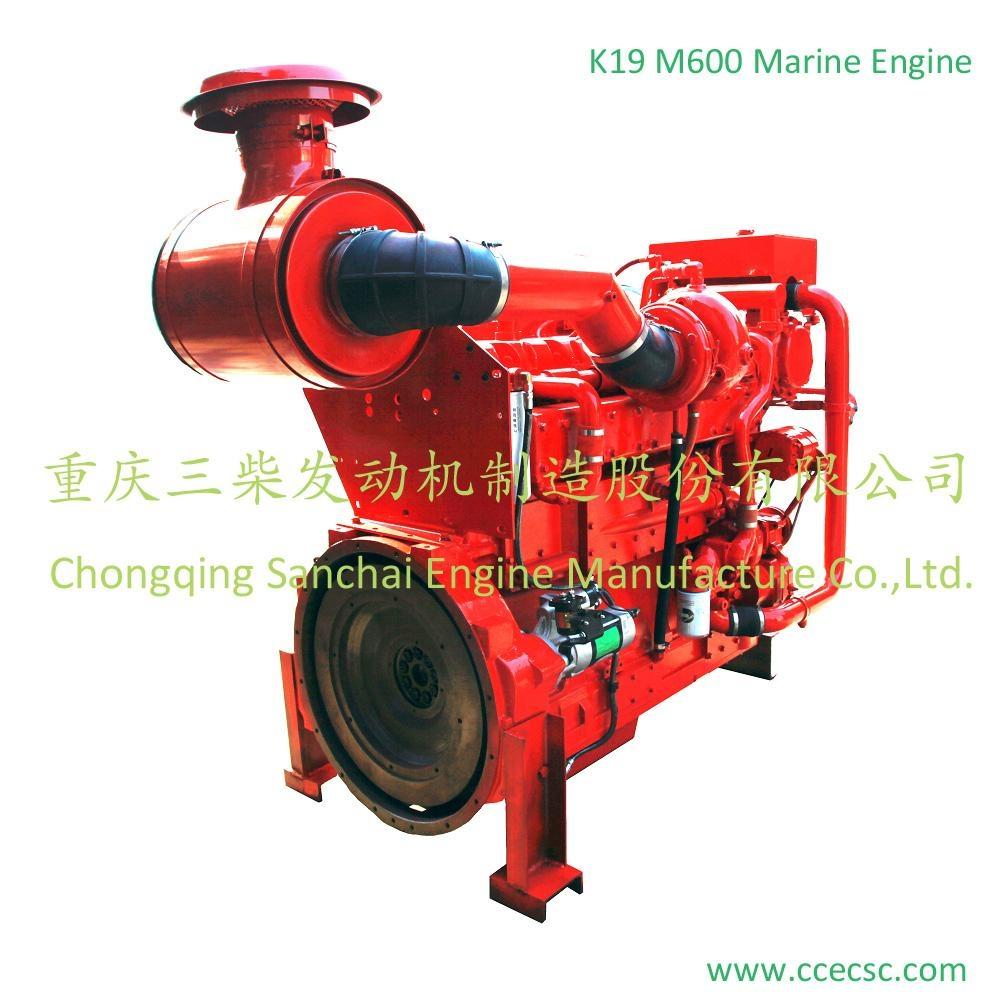 Chinese Supplier 6 cylinder Cummins marine diesel engine 2