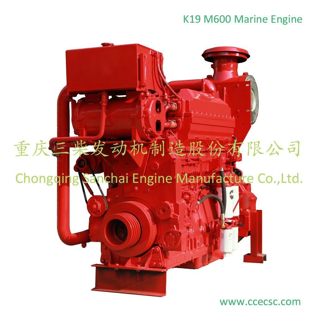 Chinese Supplier 6 cylinder Cummins marine diesel engine 4