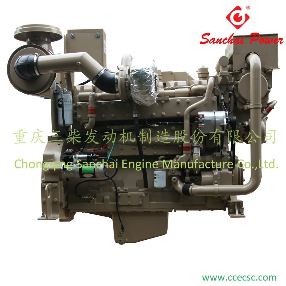 Wholesale Water Cooling Cummins KTA19-M Marine Diesel Engines 1