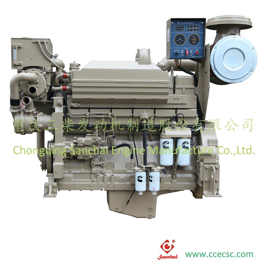 Wholesale Water Cooling Cummins KTA19-M Marine Diesel Engines 3