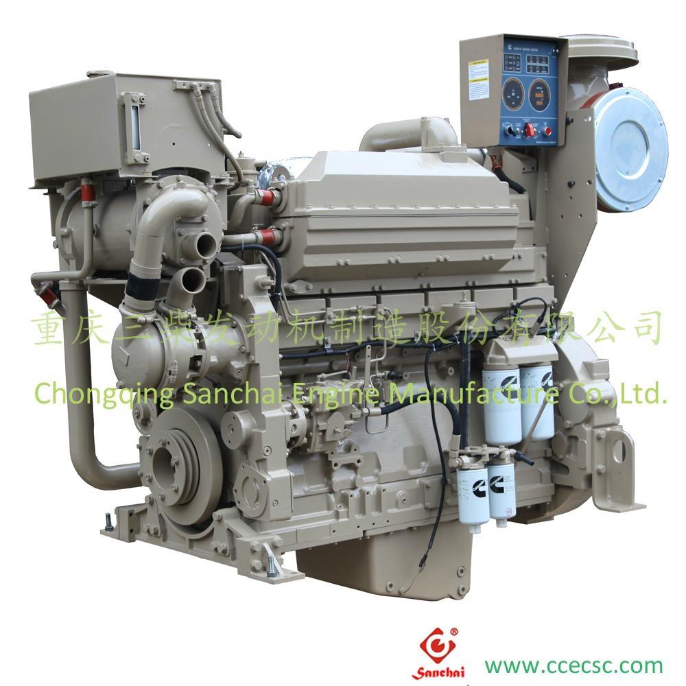 Chinese Supplier 6 cylinder Cummins marine diesel engine 1