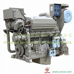 Chinese Supplier 6 cylinder Cummins marine diesel engine