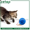 Plastic Outdoor sport magic led pets cat ball toy 4