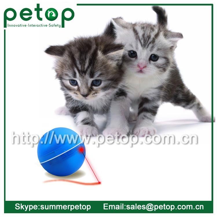 Plastic Outdoor sport magic led pets cat ball toy 2