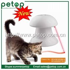 Plastic(ABS) laser electric pet cat toys