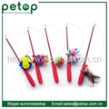 Telescoping Fishing Rod Spin Feather