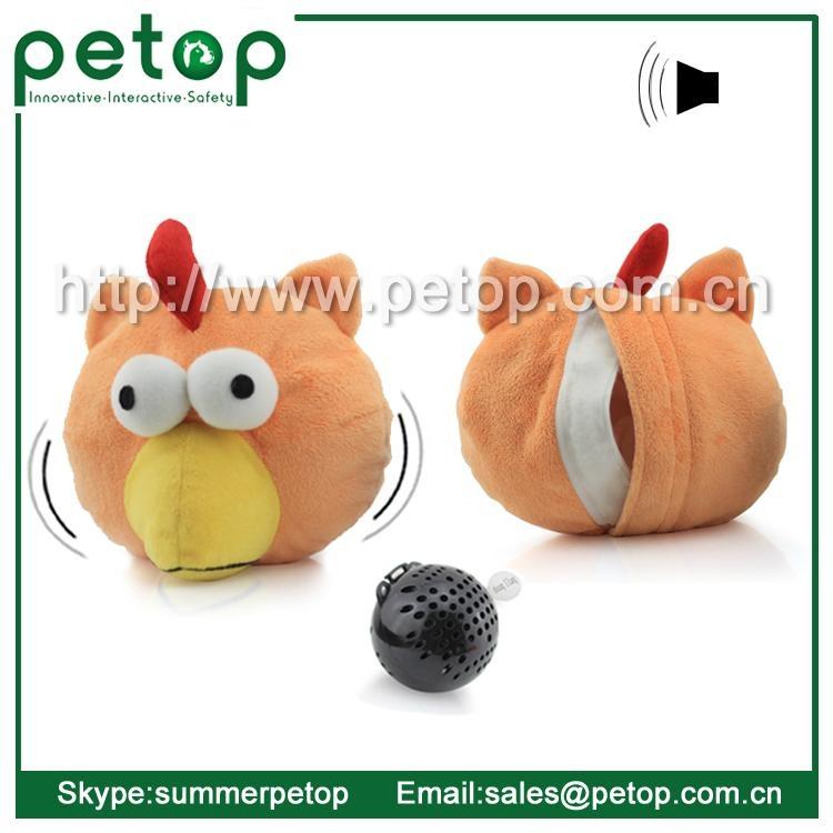 Cheap Plastic Electronic Animal Sounds Pet Toy Balls 4