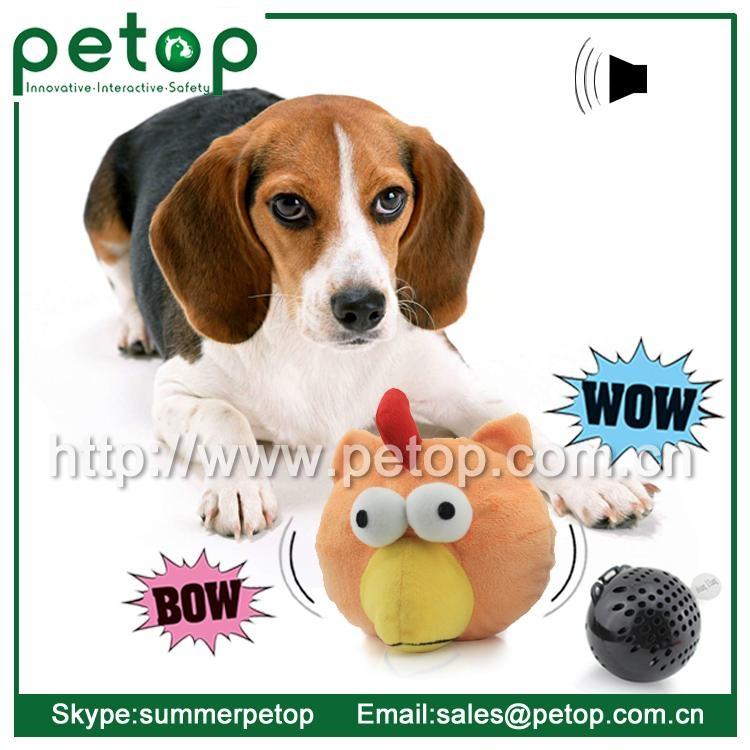 Cheap Plastic Electronic Animal Sounds Pet Toy Balls 2