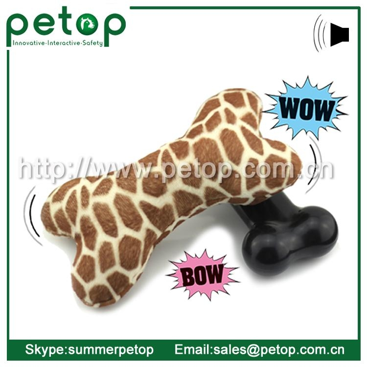 New Battery Operated Eco friendly Cheap Dog Toys Bone 3