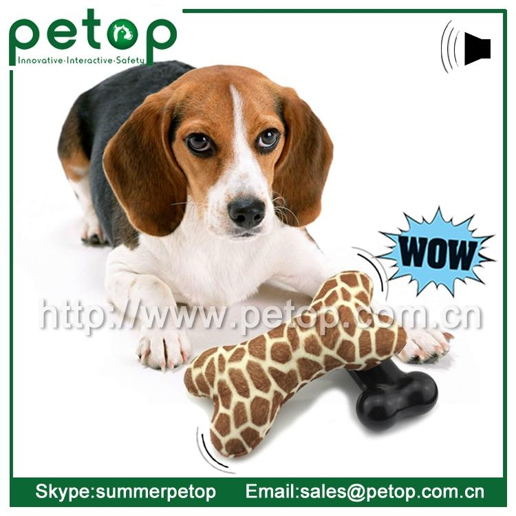 New Battery Operated Eco friendly Cheap Dog Toys Bone 1