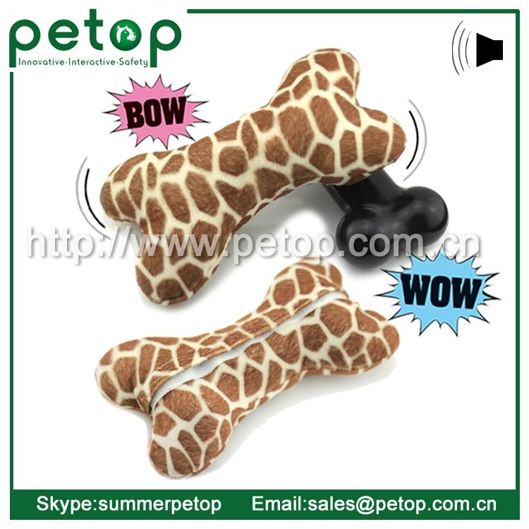 New Battery Operated Eco friendly Cheap Dog Toys Bone 4