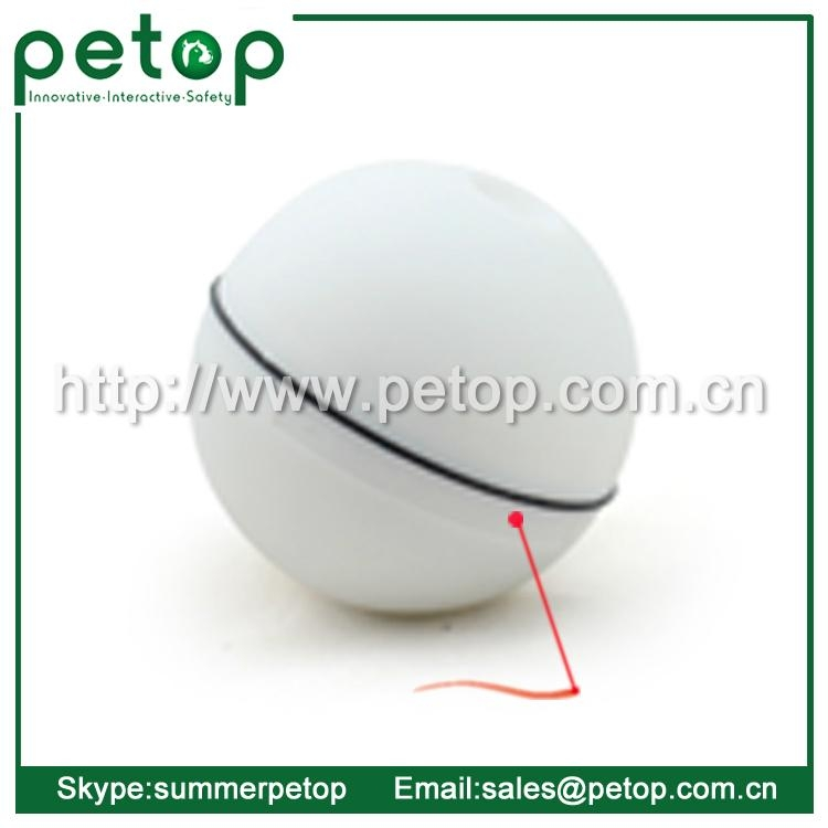 Wholesale Interactive Automatic Electric LED Action Ball Cat Toy 3