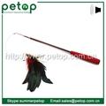 Retractable Bird Feather Cat Teaser Wand 3