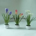 Real touch Fabric artificial flowers