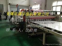 PVC建築模板生產線