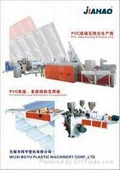 江苏PVC自由发泡地板线