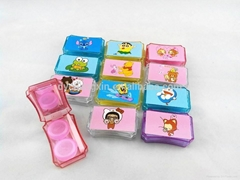 optical touch contact lens mate case