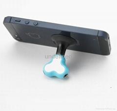 一分二音乐分享器 多功能耳机转接头支架