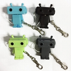 robot earphone splitter