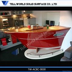 TW Artificial stone counter furniture home bar counter