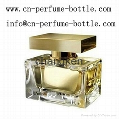 empty glass perfume bottle for wholesale