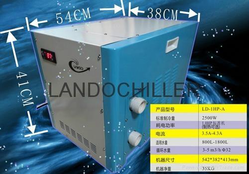 揭阳惠来用鱼缸海鲜池养殖(LD-1HP-A)冷水机 2