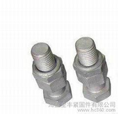 護欄機械鍍鋅螺栓