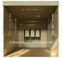 pcb25001 powder coating booth