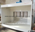 electrostatic powder coating spray booth