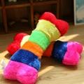 2014 hot sale rainbow color bone dog