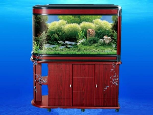 Aquarium acrylic fish tank with led light and filtering system home Decoration 1