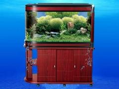 Aquarium acrylic fish tank with led