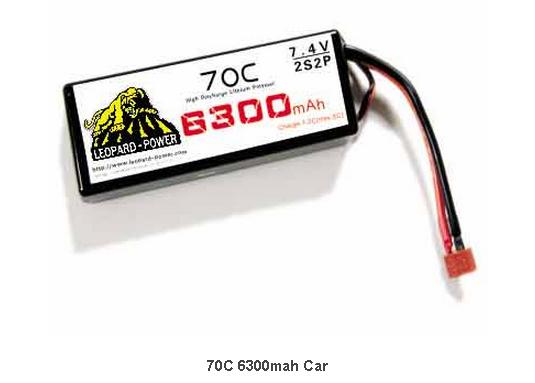 LiPo battery 70C 6300mah Car &RC model 1