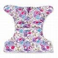 Pul Baby Cloth Diaper Single Row Snap