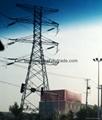 35kv Single Circuit Galvanized Steel Tower